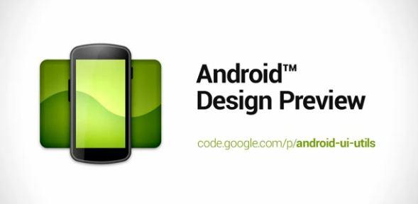 Android Design Preview in aiuto degli sviluppatori