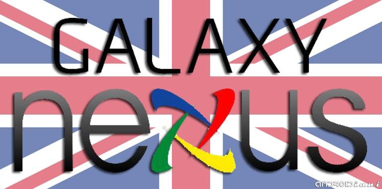 E' ufficiale: Galaxy Nexus dal 17 Novembre (almeno in UK)