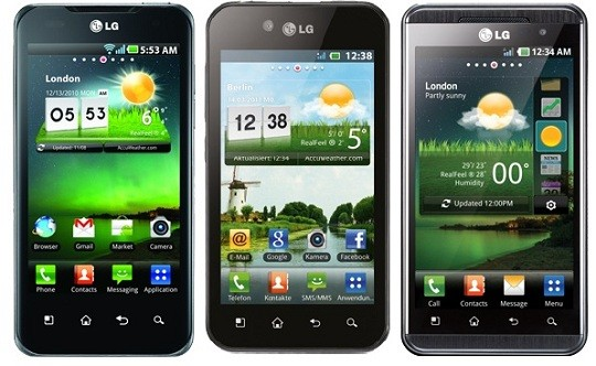 LG ufficializza Ice Cream Sandwich per Optimus Dual, Optimus 3D ed Optimus Black