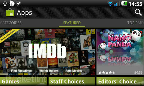 Android Market: disponibile nuova versione 3.3.12 (Download)