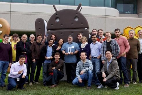 Steve Wozniak ha ricevuto il suo Galaxy Nexus !