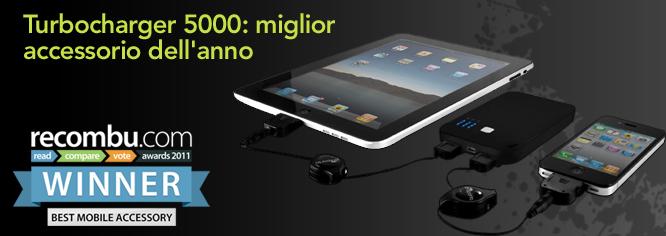 TurboChargher USB 5000, il miglior accessorio dell'anno