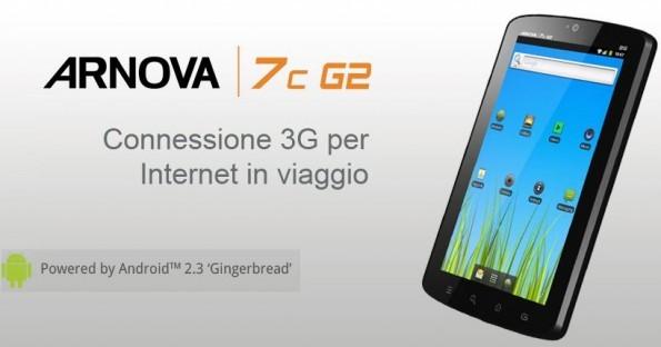Archos Arnova 7 : un tablet Android a 189€