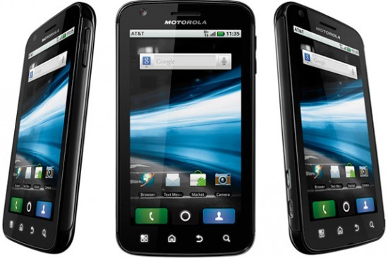 Motorola Atrix: roll-out Europeo di Android 2.3.4 Gingerbread