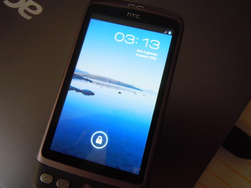 HTC Desire: porting Android 4.0 Ice Cream Sandwich