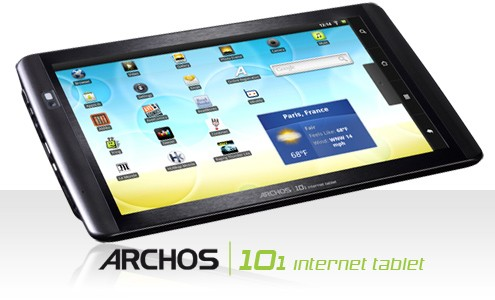 Archos a lavoro su un tablet con display da 12 pollici?