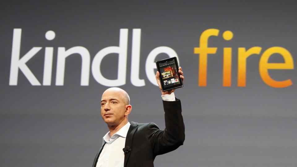 Amazon rilascia il codice sorgente del Kindle Fire