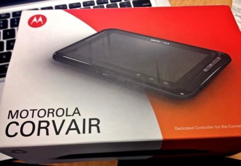Motorola Corvair: il tablet Android per controllare la TV