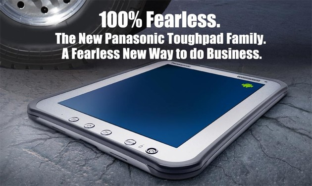 Panasonic Toughpad: nuovo tablet Android indistruttibile a 1.299$