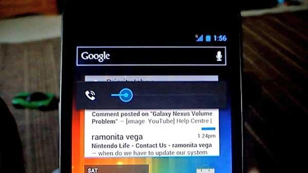 Samsung Galaxy Nexus: dopo l'update il problema persiste