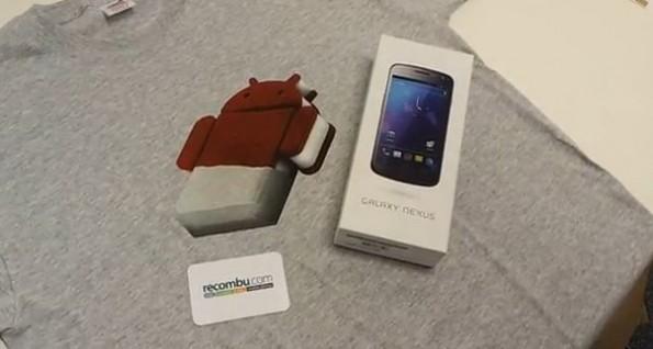 Galaxy Nexus : nuovi rumors per l'uscita con Verizon