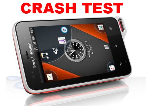 Sony Ericsson Xperia Active - Un crash test da record