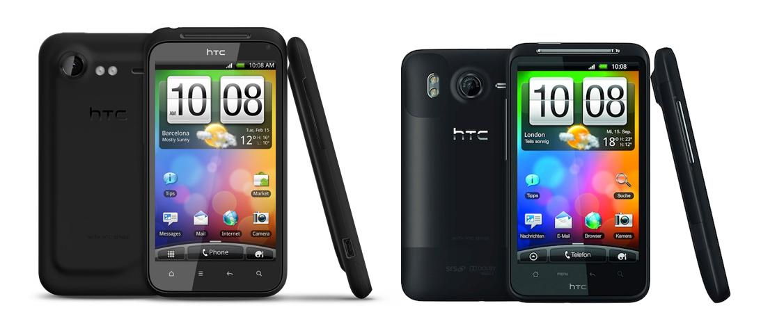 HTC Desire HD ed Incredible S: update ufficiale con HTC Sense 3.0