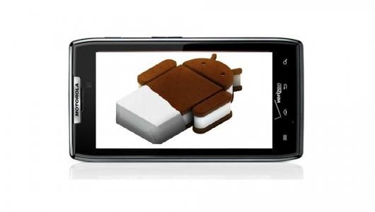 Motorola Droid RAZR: ecco un primo porting di Ice Cream Sandwich