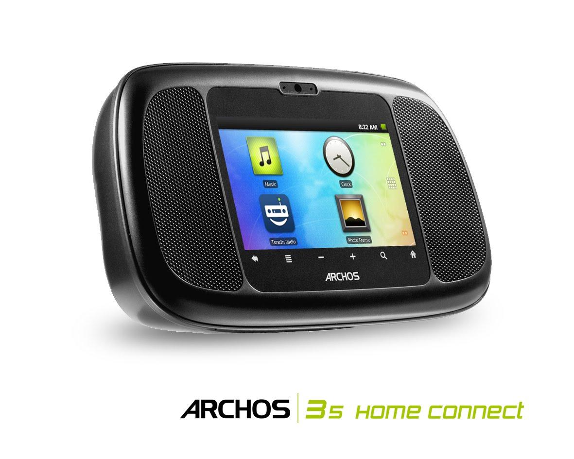 ARCHOS presenta la web-radio android based
