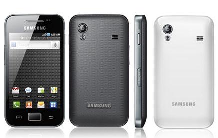 Samsung Galaxy Ace: ecco Android 4.0 Ice Cream Sandwich Alpha