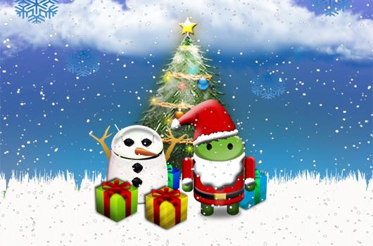 Il Papa accende l'albero di Natale con un tablet Android