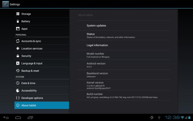 Motorola Xoom: Android 4.0.3 Ice Cream Sandwich in video