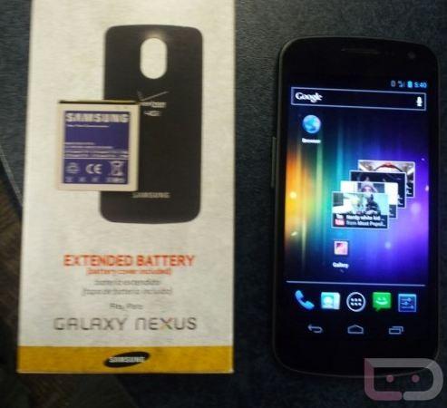 Galaxy Nexus : arriva la batteria maggiorata !