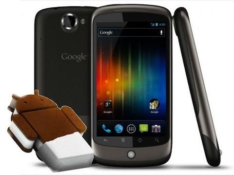 HTC Nexus One: CyanogenMod 9 Alpha 9 ed Ice Cream Sandwich