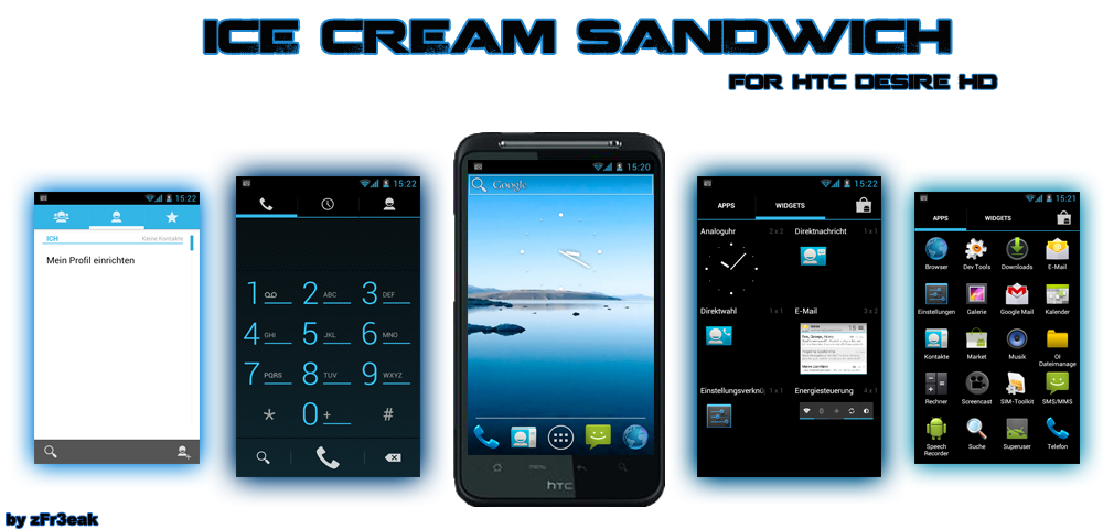 HTC Desire HD: ottimo porting di Ice Cream Sandwich