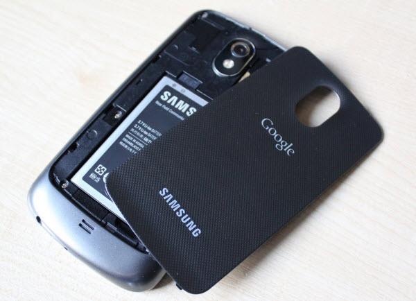 Samsung Galaxy Nexus: eccessivo consumo di batteria?