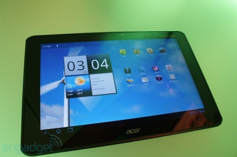 Acer Iconia Tab A700: Nvidia Tegra 3, display Full HD e Android 4.0