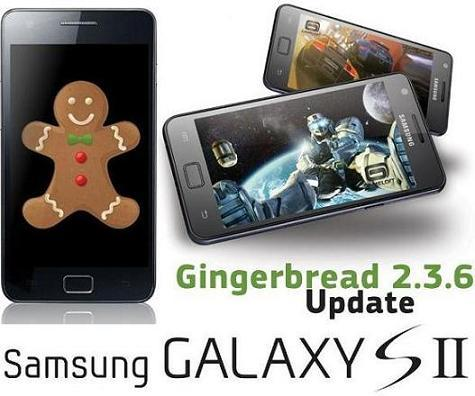 Samsung Galaxy S II: disponibile Android 2.3.6 Gingerbread via Kies [UPDATE]