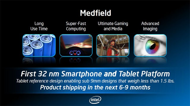 Intel Medfield vs Nvidia Tegra 3: anteprima performance
