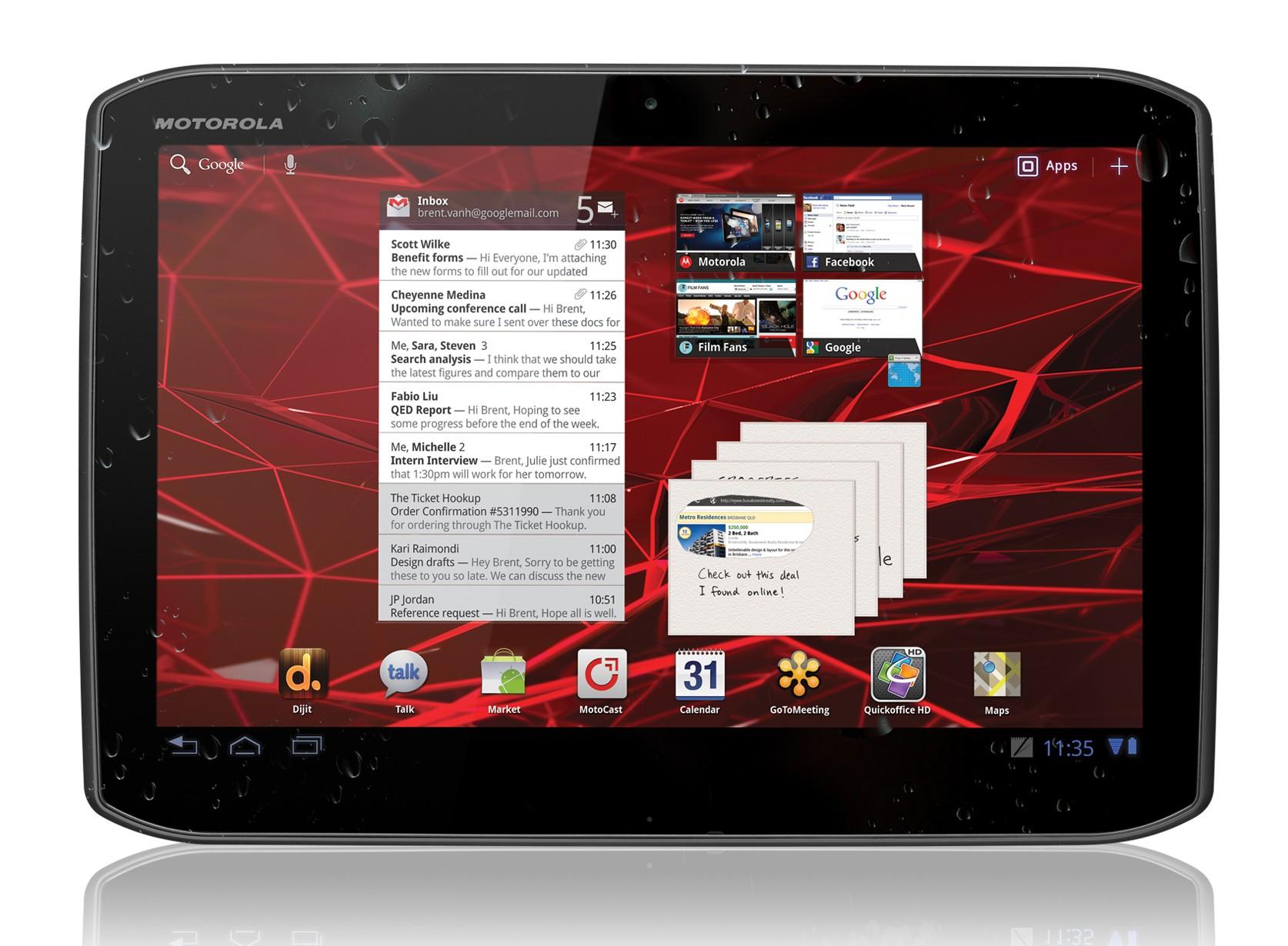 Motorola Mobility lancia lo Xoom 2 in Italia