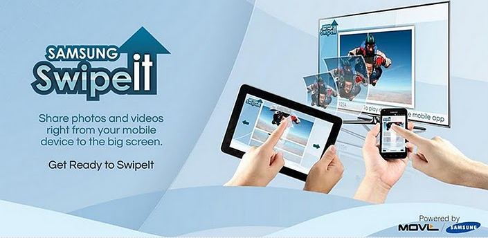 CES 2012: con SwipeIt condividi foto e video con la tua smart TV