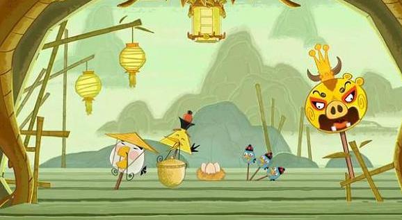 Angry Birds si sposta in Cina con il nuovo capitolo l'Anno del Dragone