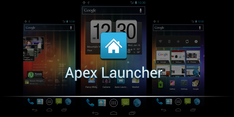 Apex Launcher: nuovo e interessante