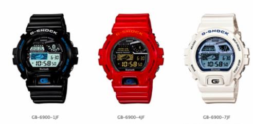Casio G-Shock : gli orologi bluetooth per collegarsi agli smartphone