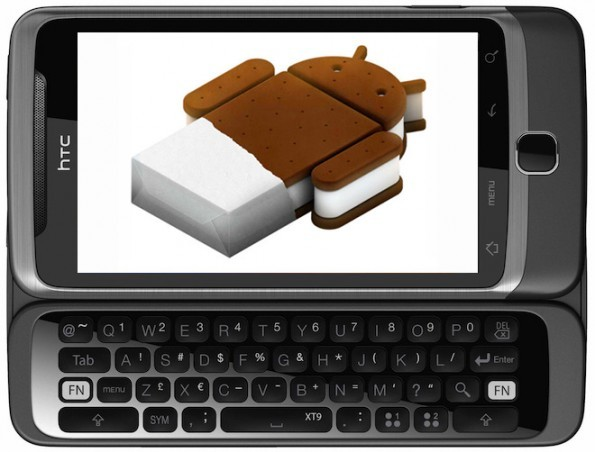 HTC Desire Z: ecco due firmware basati su Ice Cream Sandwich
