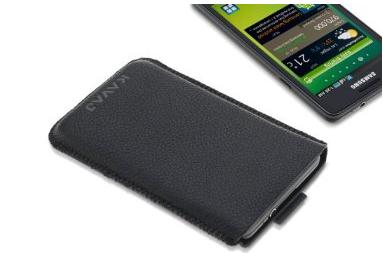 Samsung Galaxy S II: custodia di pelle Kavaj modello