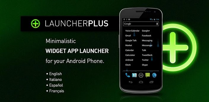 Launcher Plus Widget