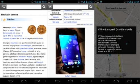 Wikipedia, l'app ufficiale arriva su Android