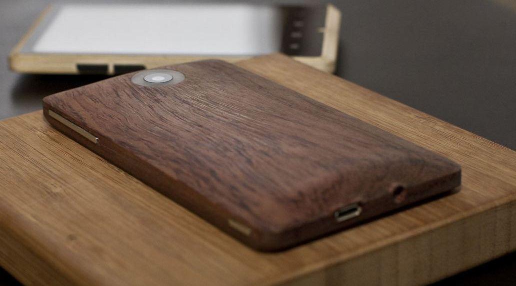 Bamboo AdZero: lo smartphone Android in legno