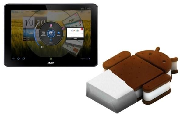 Acer Iconia Tab A200: disponibile l'aggiornamento ad Android 4.0.3