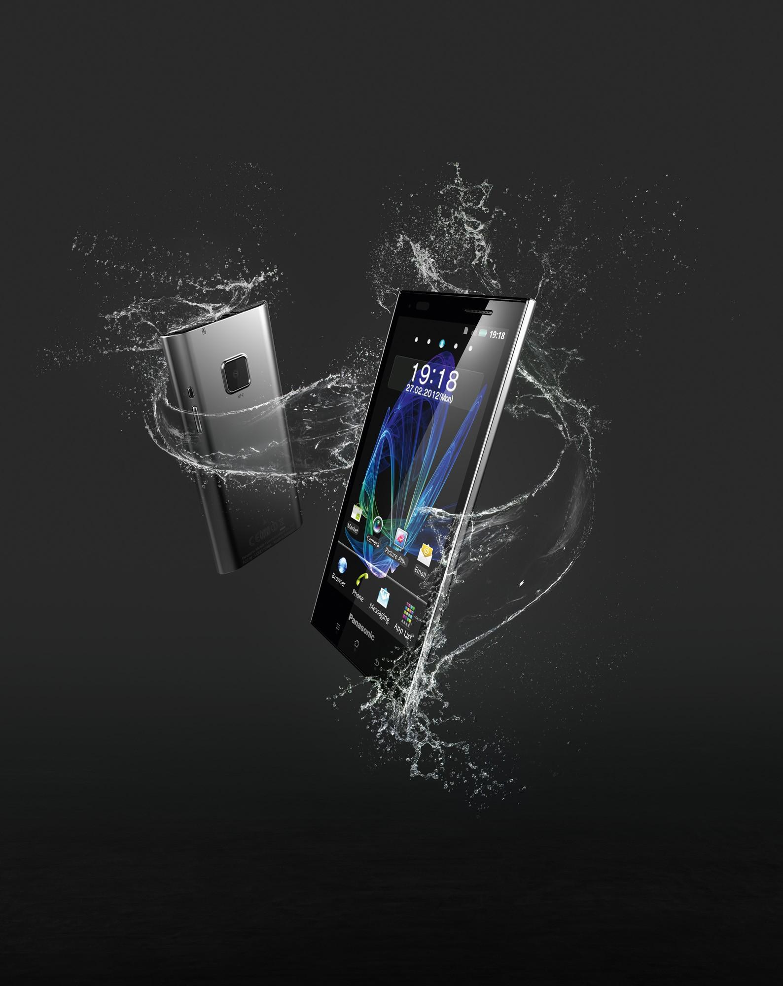 Panasonic rientra nell'ambito della telefonia mobile con uno smartphone Android