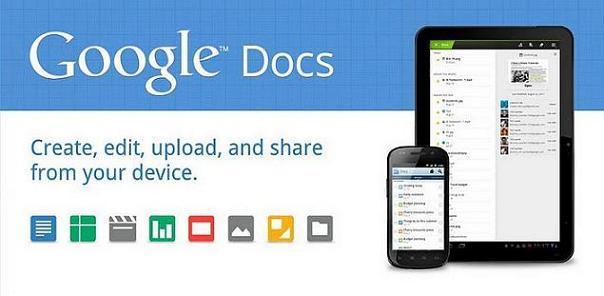 Google Docs migliora la visualizzazione sui tablet e implementa la modalità offline