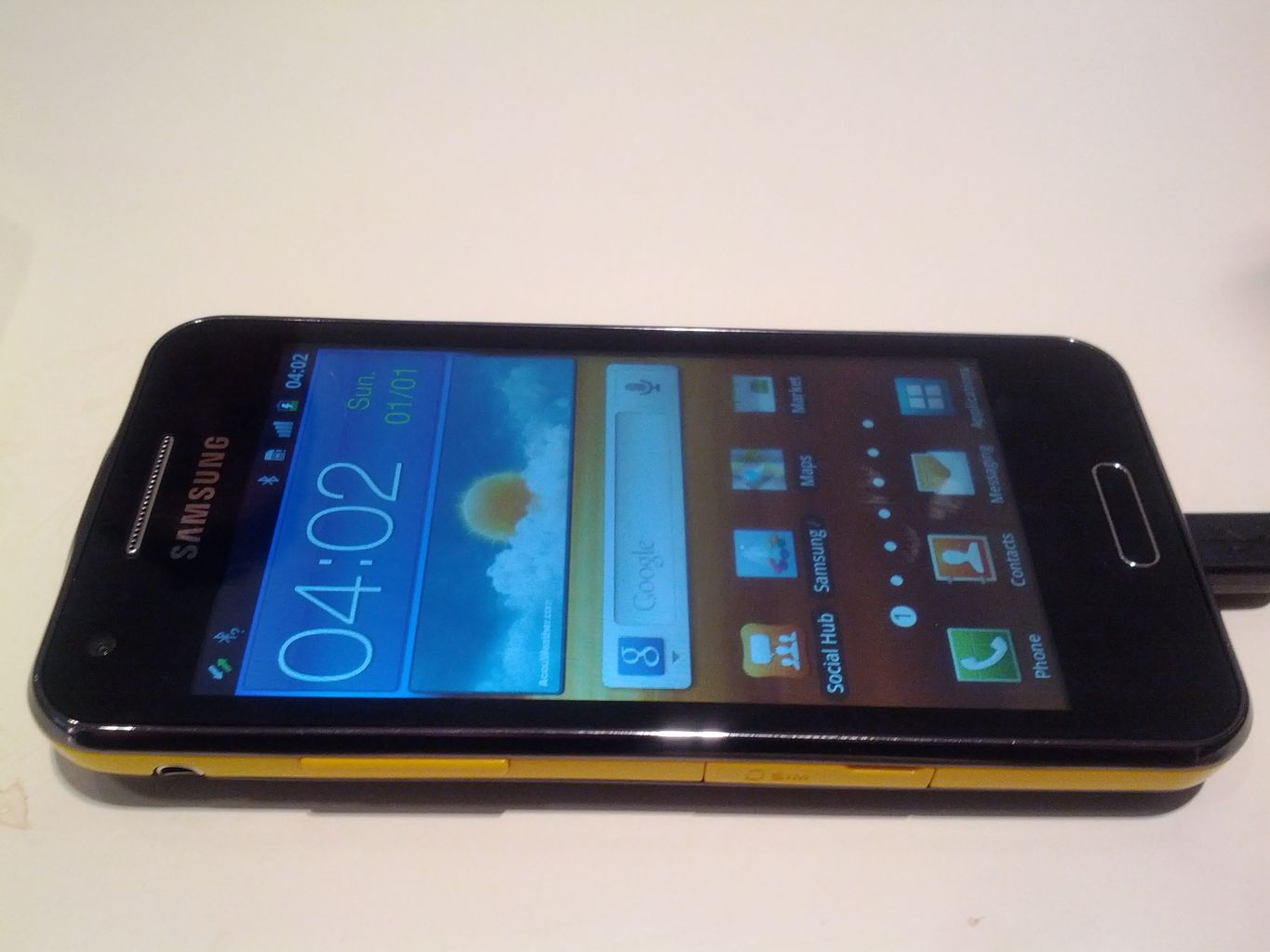 Samsung Galaxy Beam - Review