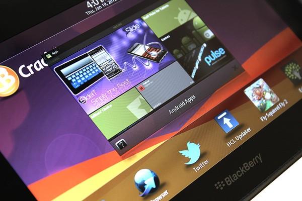 RIM Playbook 2.0 Con Applicazioni Android. Prova Del 9