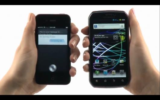 Siri vs Azioni Vocali di Google secondo Motorola