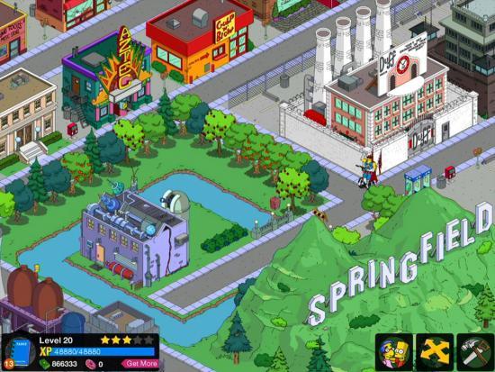 I Simpson in arrivo su Android grazie a EA