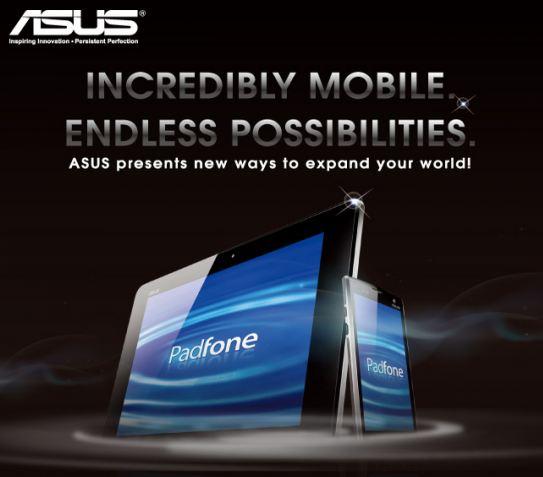 Asus PadFone: un nuovo look al MWC 2012