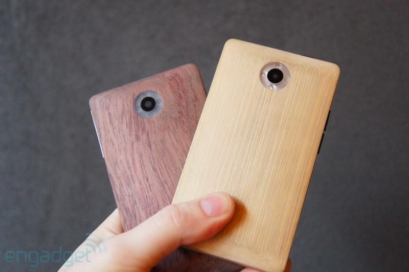 Bamboo ADzero: nuove immagini e nuovo video dello smartphone in legno
