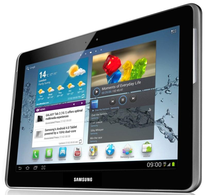 Samsung: Galaxy Tab 2 10.1 il 13 Maggio a 399$, versione 7 pollici a 249$ già dal 22 Aprile