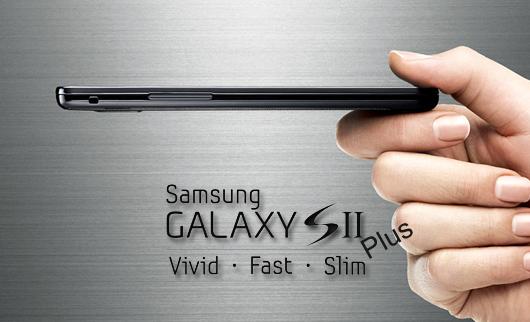 Samsung Galaxy S II Plus: ecco il primo render